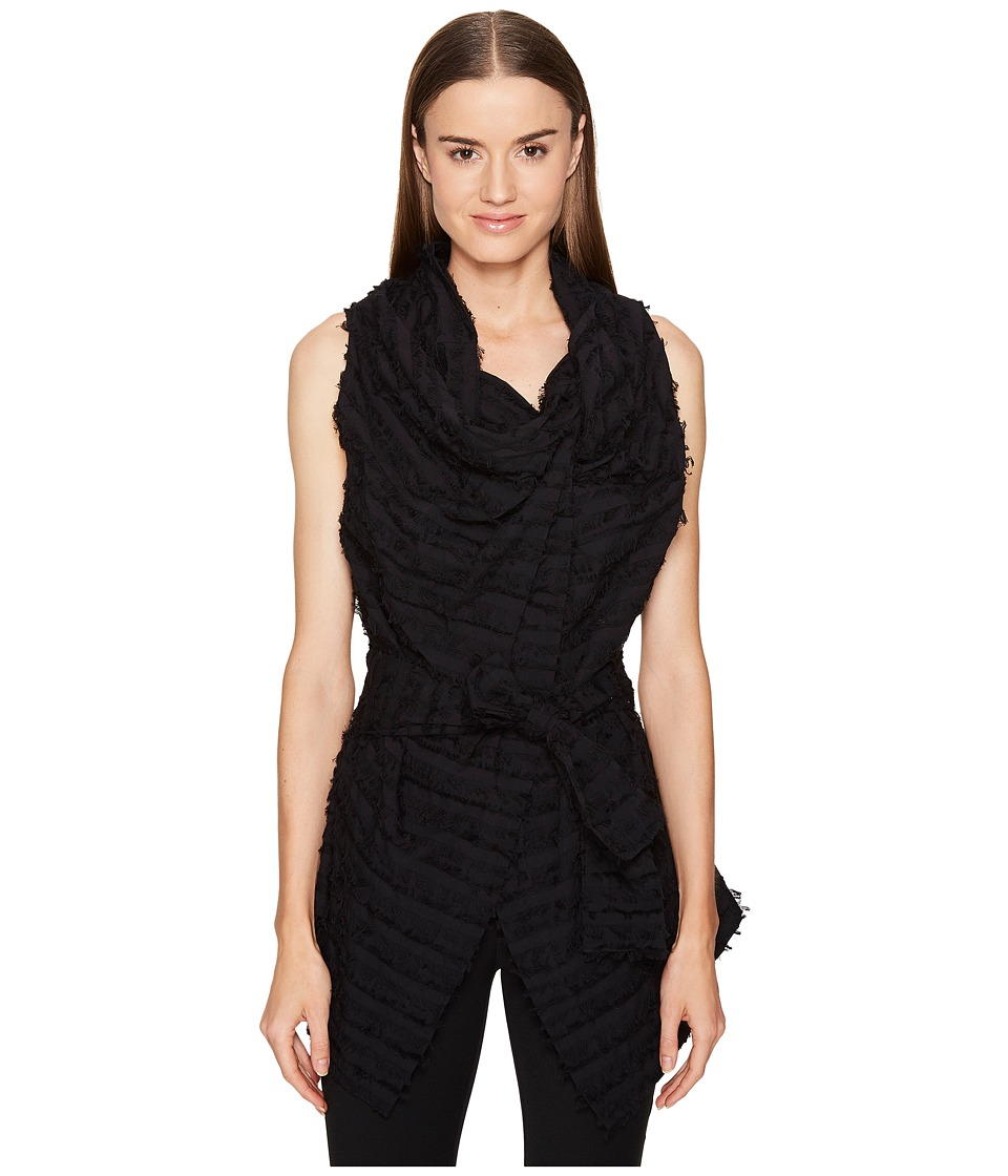 Vivienne Westwood - Sleeveless Square Blouse (Black) Women's Blouse