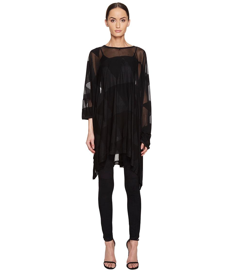 Vivienne Westwood - Elephant Hole Top (Black) Women's Clothing