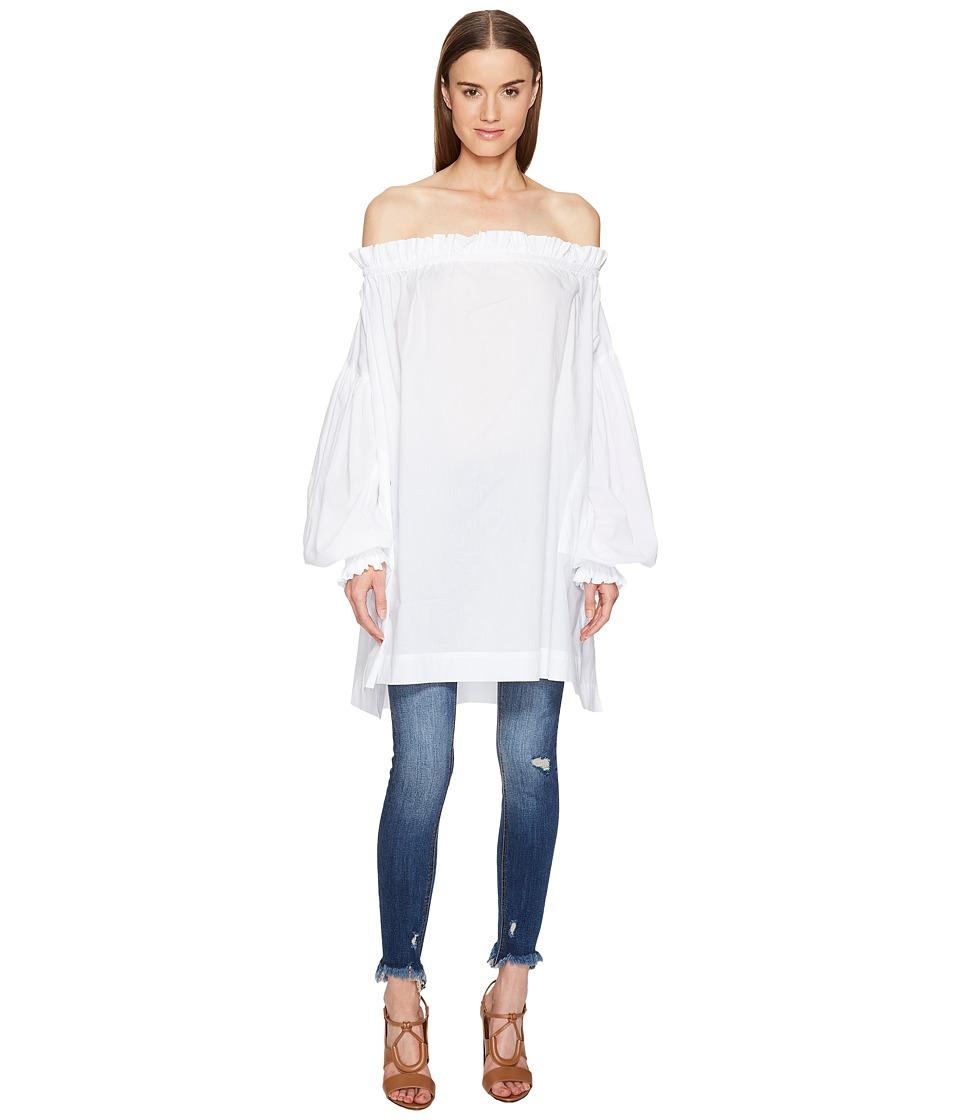 Vivienne Westwood - L'ete' Chemise Tunic (Optical White) Women's Blouse