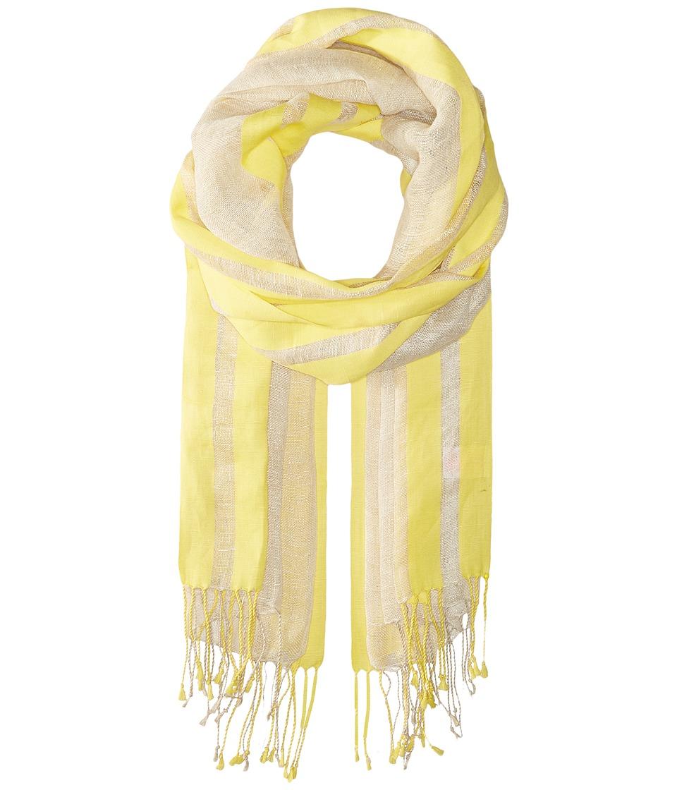 Pistil - Cabana Scarf (Yellow) Scarves