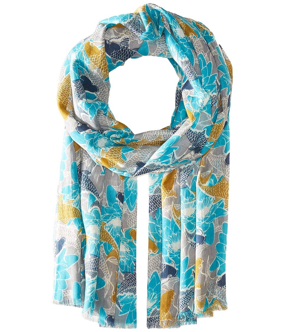Pistil - Sumi Scarf (Turquoise) Scarves