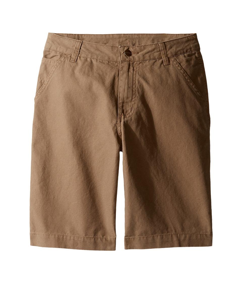 Carhartt Kids - Dungaree Shorts (Big Kids) (Canyon Brown) Boy's Shorts