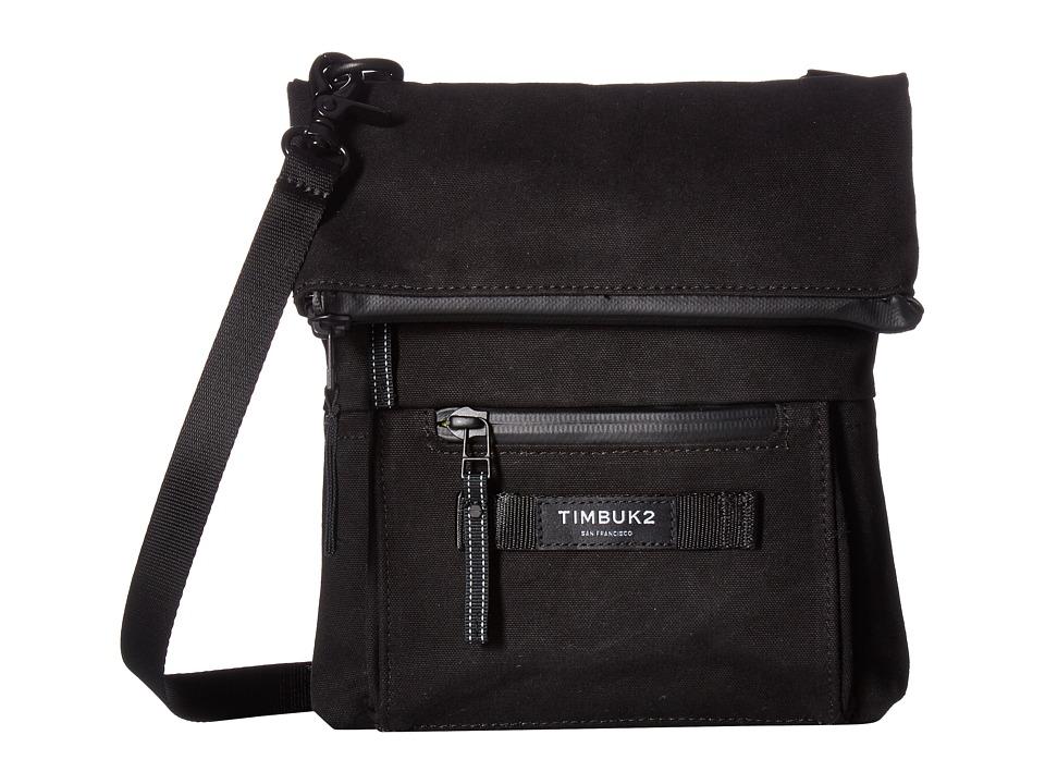 Timbuk2 - Cargo Crossbody Canvas (Jet Black) Cross Body Handbags