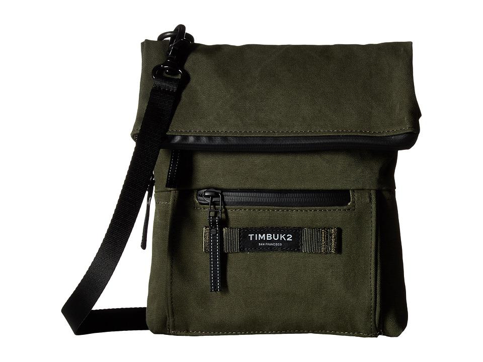 Timbuk2 - Cargo Crossbody Canvas (Army) Cross Body Handbags