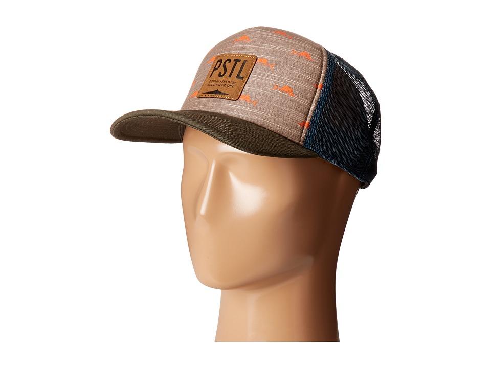 Pistil - Outrigger (Brown) Caps