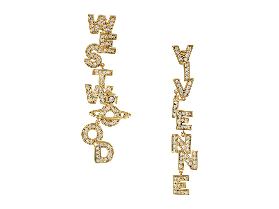Vivienne Westwood - Soho Large Earrings (White Cubic Zirconia 1) Earring