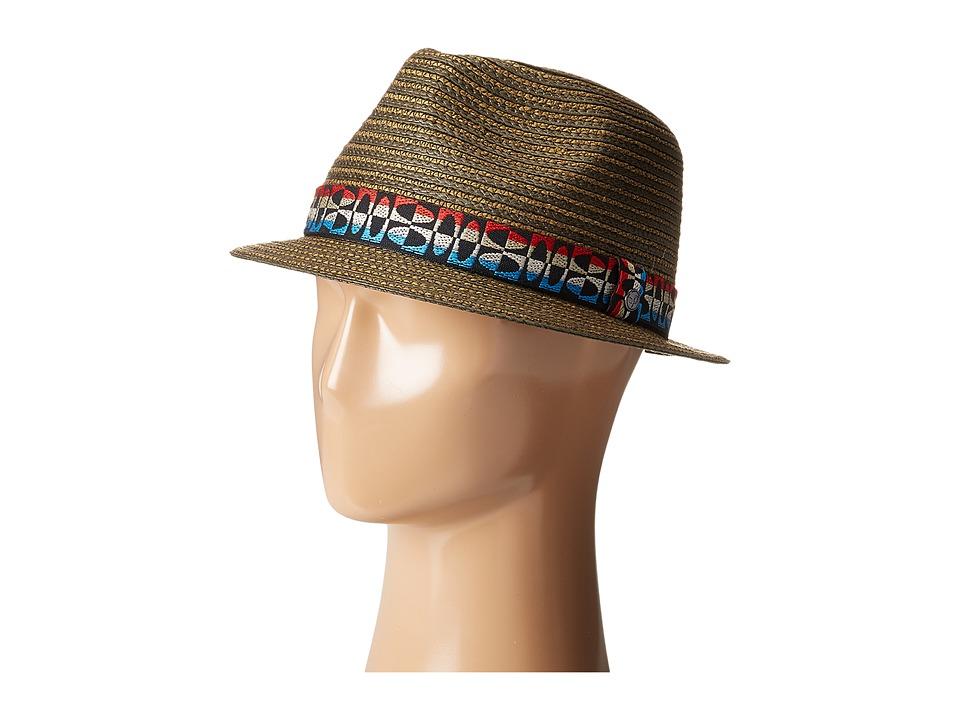 Pistil - Ethan (Cinder) Fedora Hats