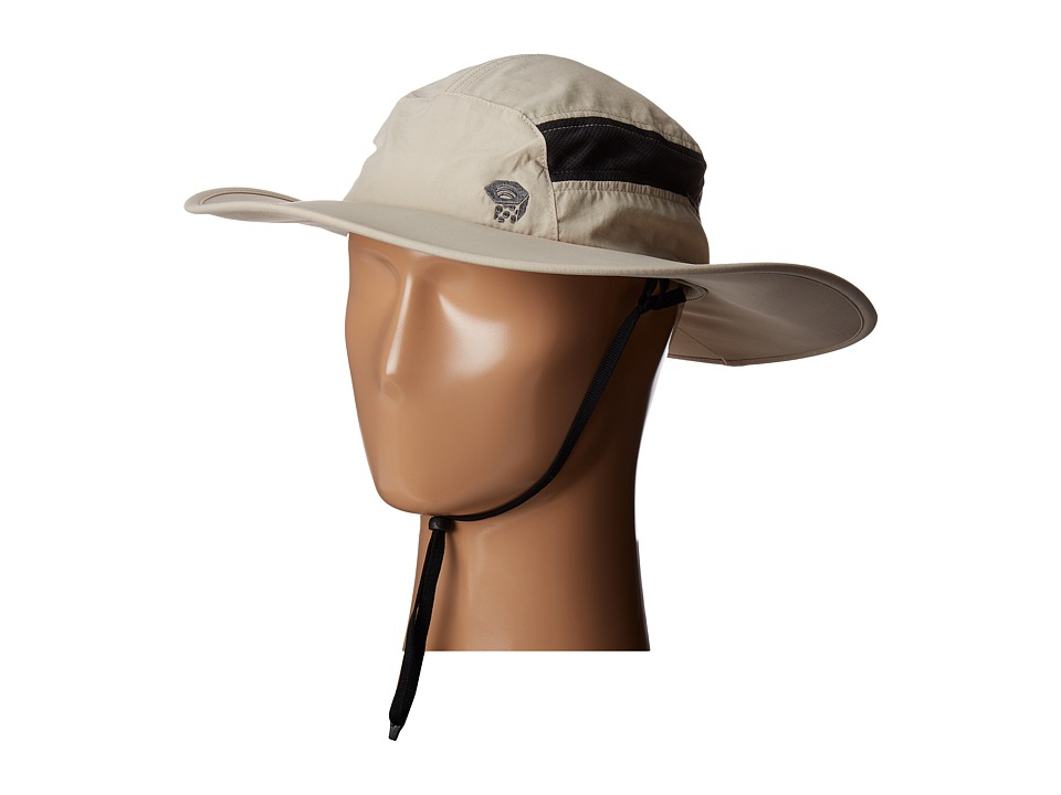Mountain Hardwear - Canyontm Wide Brim Hat (Fossil) Safari Hats