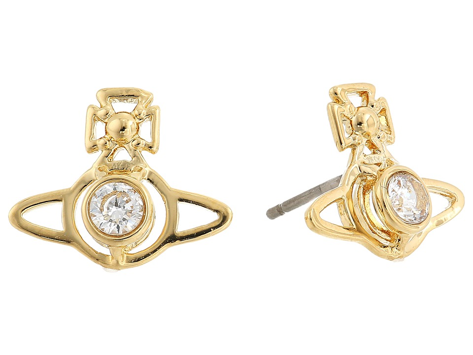 Vivienne Westwood - Nora Earrings (White Cubic Zirconia 1) Earring