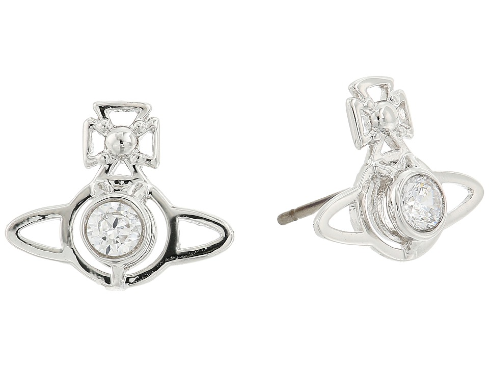 Vivienne Westwood - Nora Earrings (White Cubic Zirconia) Earring
