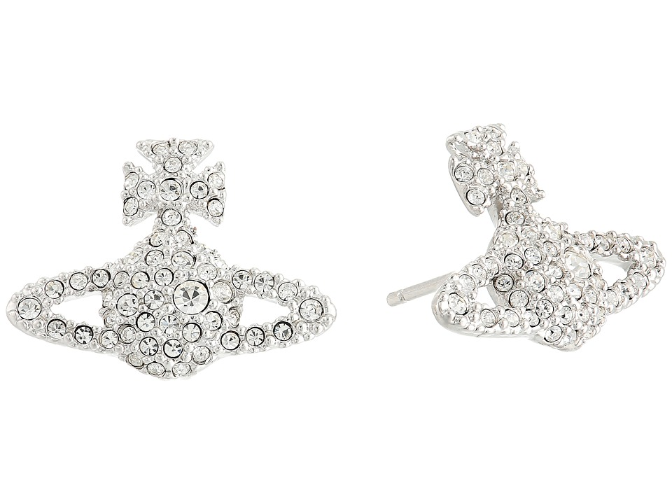 Vivienne Westwood - Grace Stud Earrings (Crystal) Earring