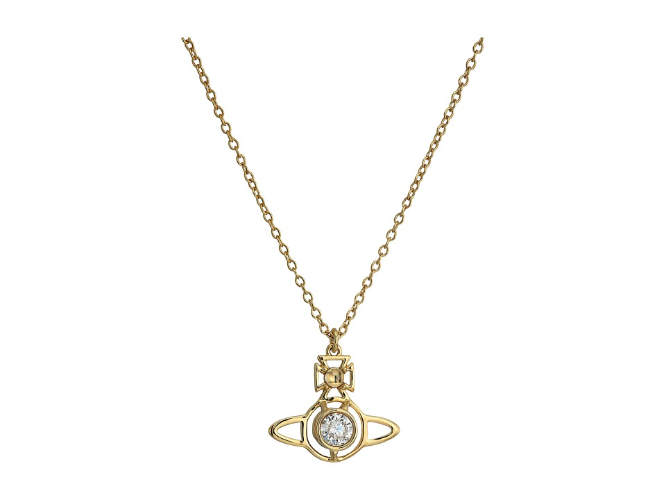 Vivienne Westwood - Nora Pendant Necklace (White Cubic Zirconia 1) Necklace
