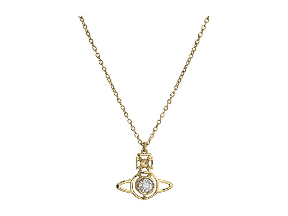 Vivienne Westwood - Nora Pendant Necklace (White Cubic Zirconia 1) Necklace
