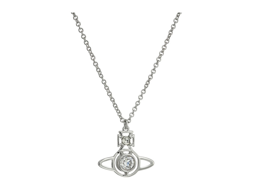 Vivienne Westwood - Nora Pendant Necklace (White Cubic Zirconia) Necklace