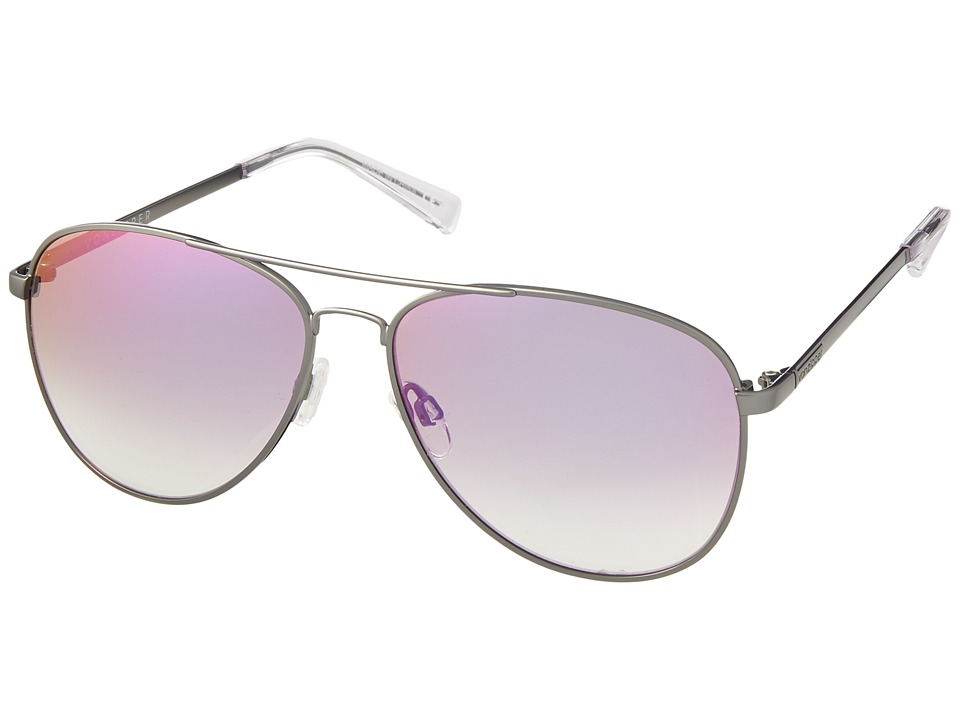 VonZipper - Farva (Gunmetal/Pink Chrome) Fashion Sunglasses