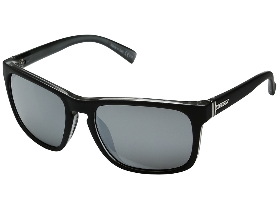 VonZipper - Lomax (Black Steel/Silver Grey Chrome) Sport Sunglasses