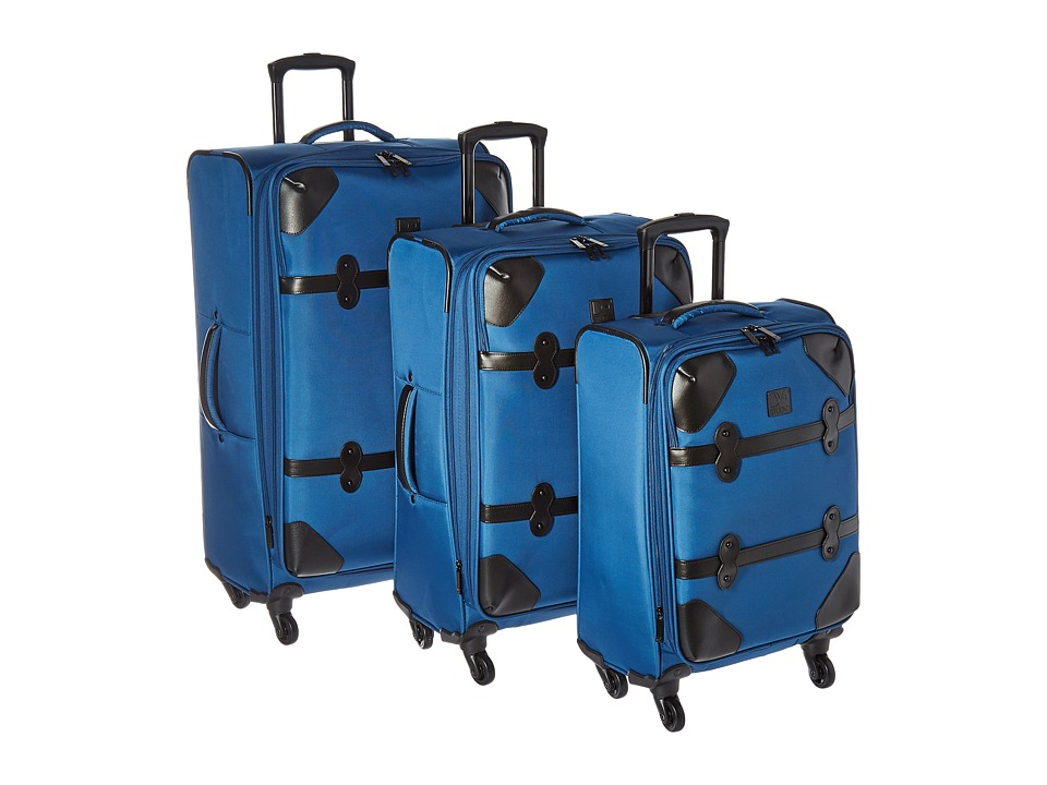 Diane von Furstenberg - Julie Three-Piece Set (Faded Indigo) Luggage