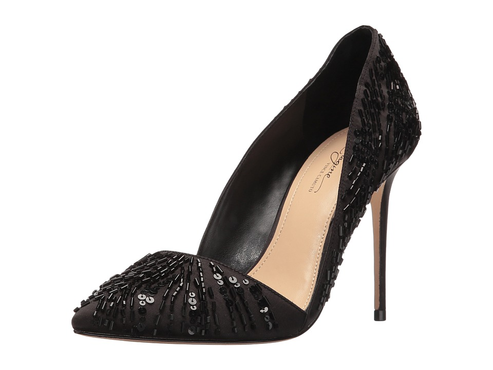 Imagine Vince Camuto - Ova (Black Delux Satin) High Heels
