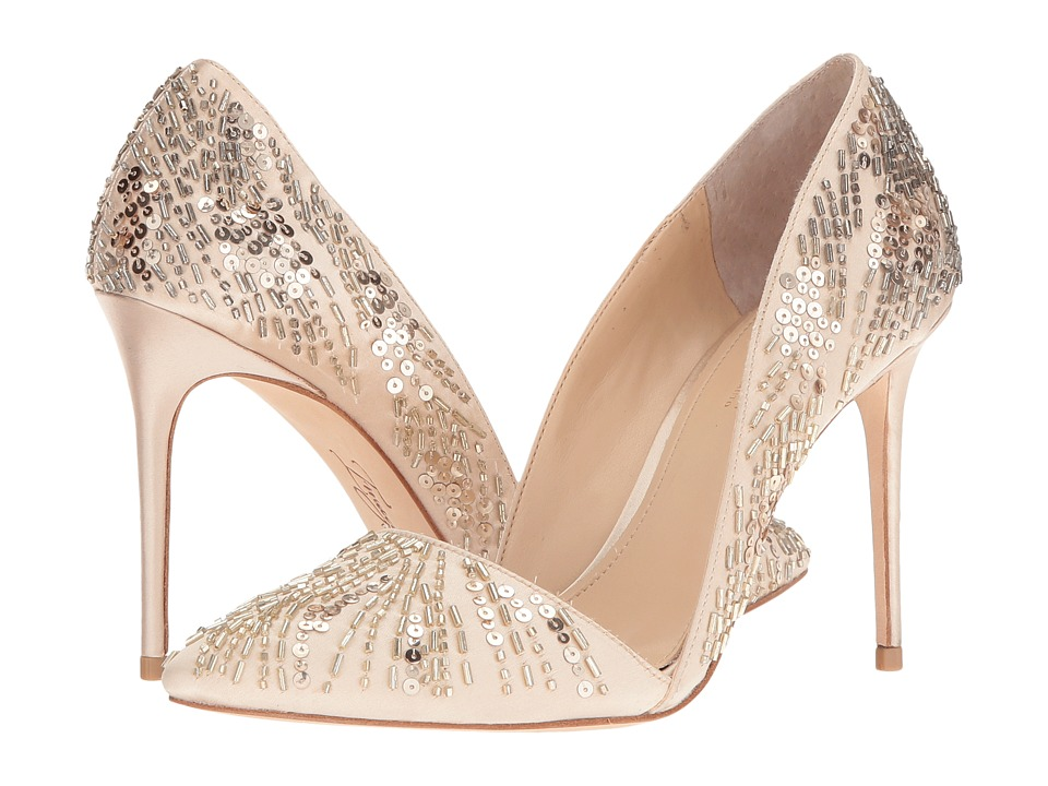Imagine Vince Camuto - Ova (Soft Gold Delux Satin) High Heels