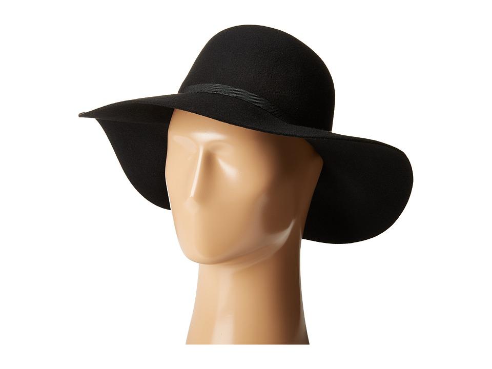 Ted Baker - Cooney Floppy Felt Hat (Black) Caps