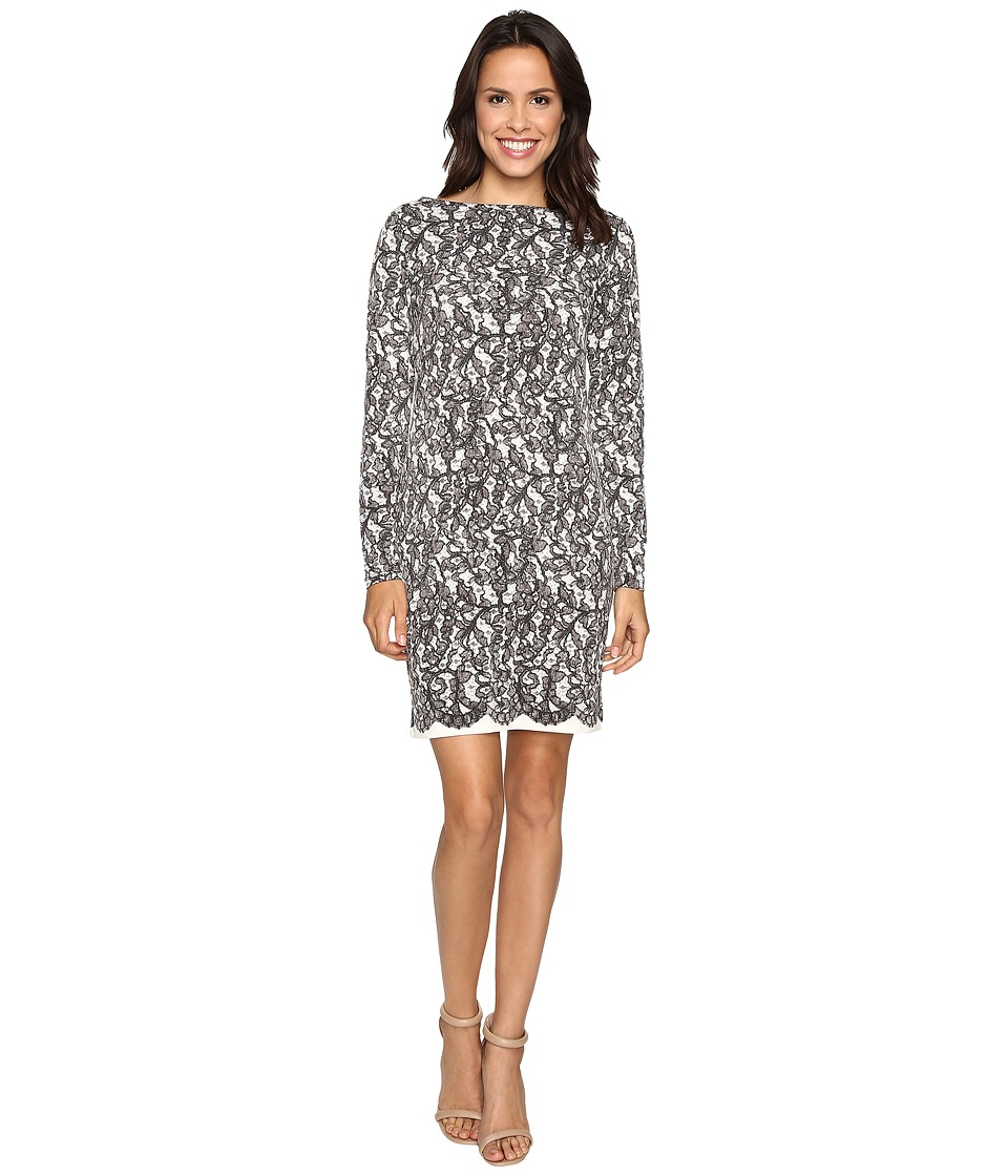 MICHAEL Michael Kors - Umbria Lace Border Dress (Ecru) Women's Dress