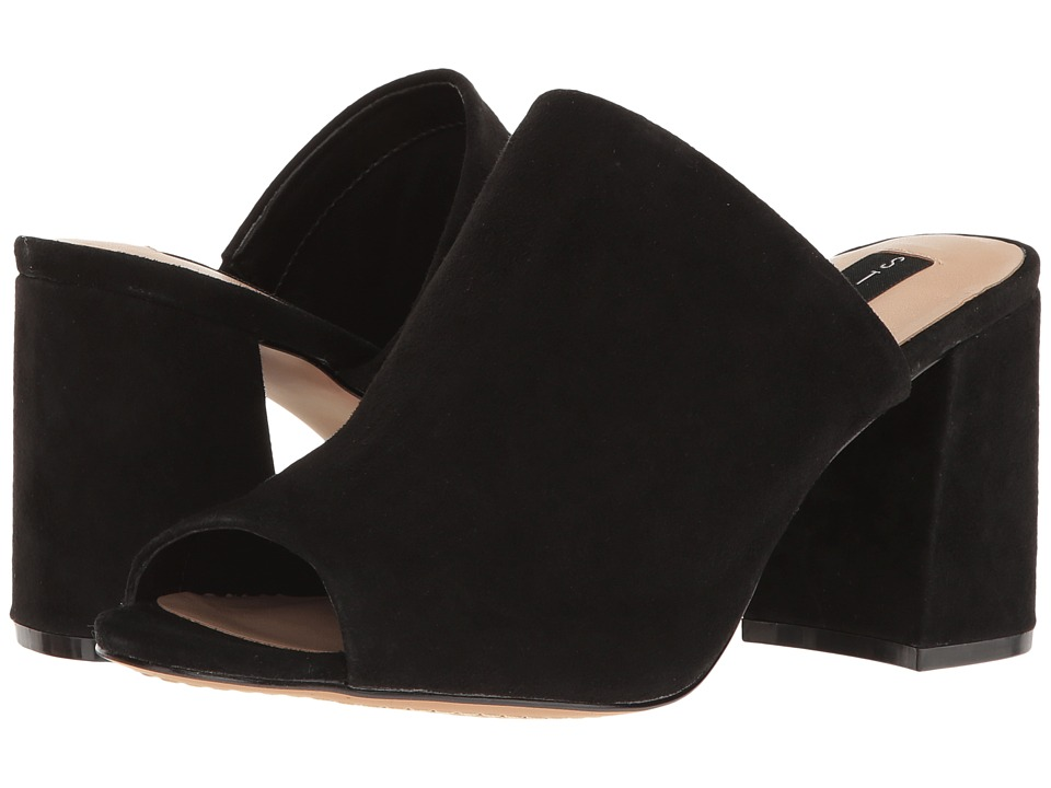 Steven - Fume (Black Suede) High Heels