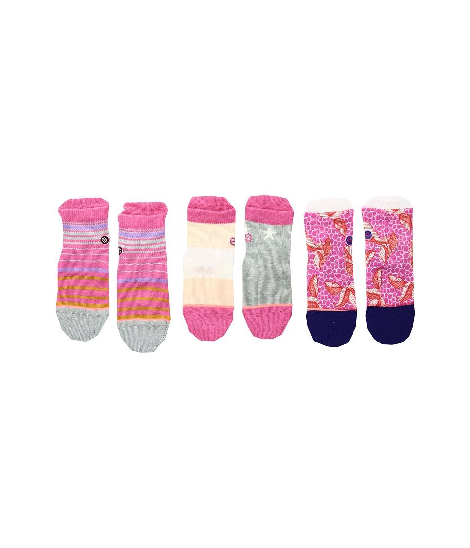 Stance - Purdy Box Set (Infant) (Multi) Women's Crew Cut Socks Shoes