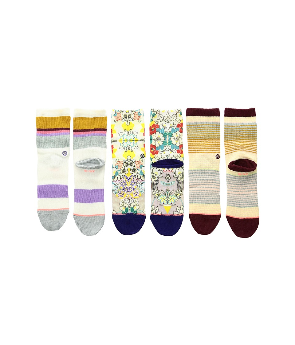 Stance - Jiggy Box Set (Infant/Toddler) (Multi) Women's Crew Cut Socks Shoes