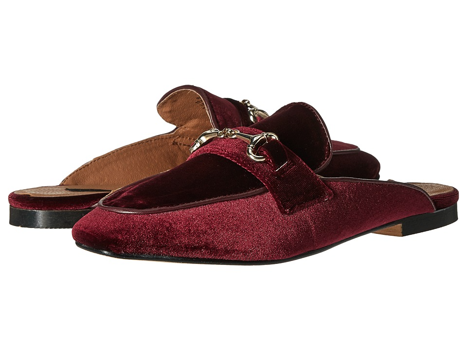 Steven - Razzi (Burgundy Velvet) Women's Shoes
