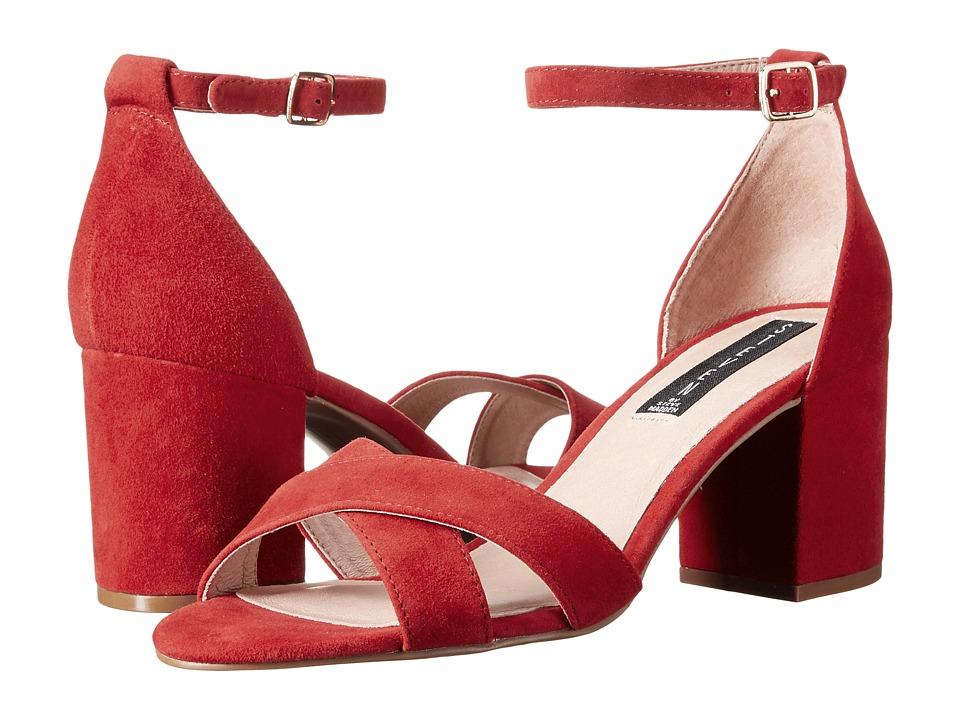 Steven - Voomme (Red Suede) High Heels