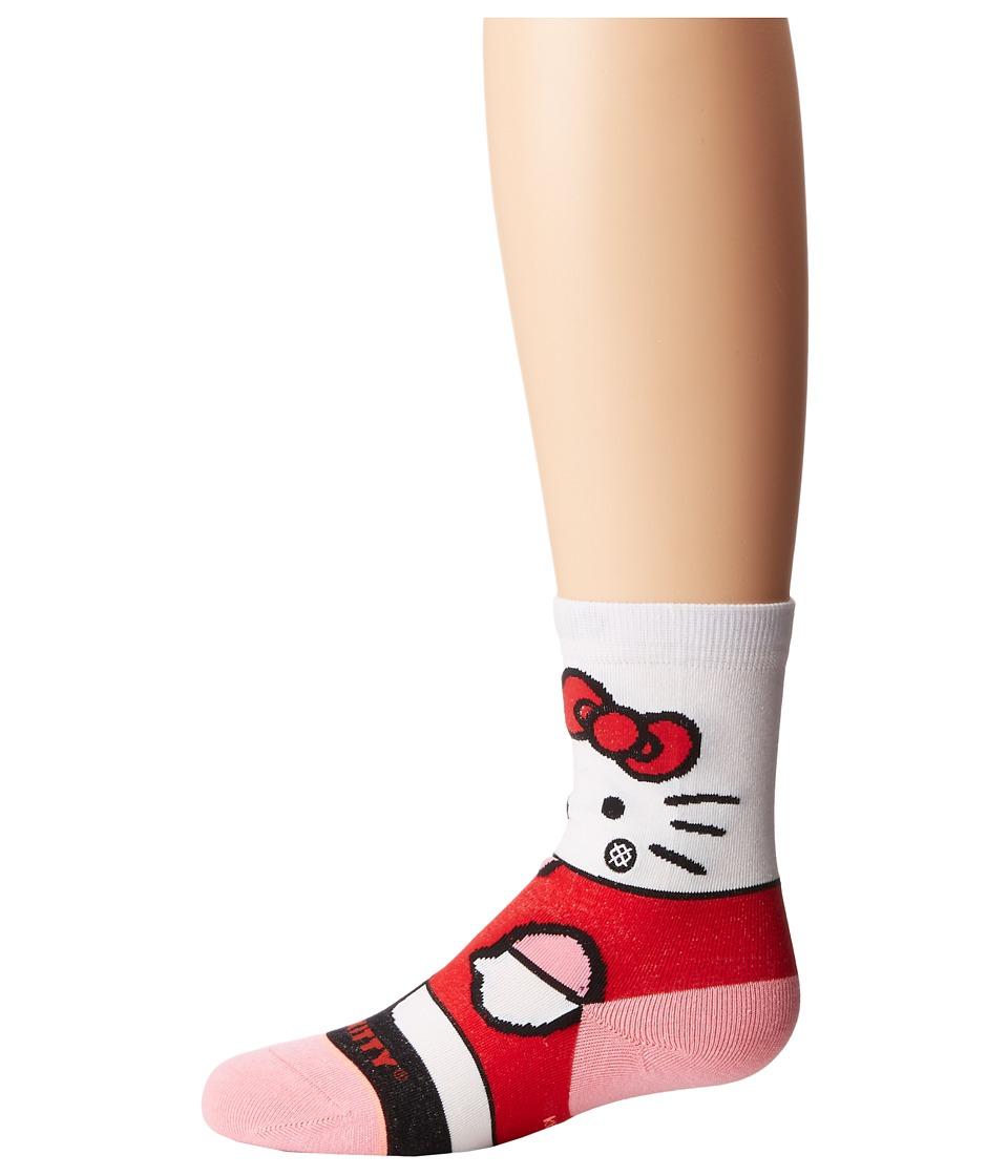 Stance - Hello Kitty (Toddler/Little Kid/Big Kid) (Multi) Women's Crew Cut Socks Shoes