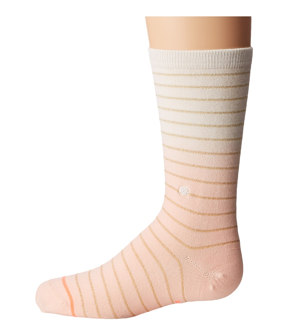 Stance - Dip Toe (Toddler/Little Kid/Big Kid) (Pink) Women's Crew Cut Socks Shoes
