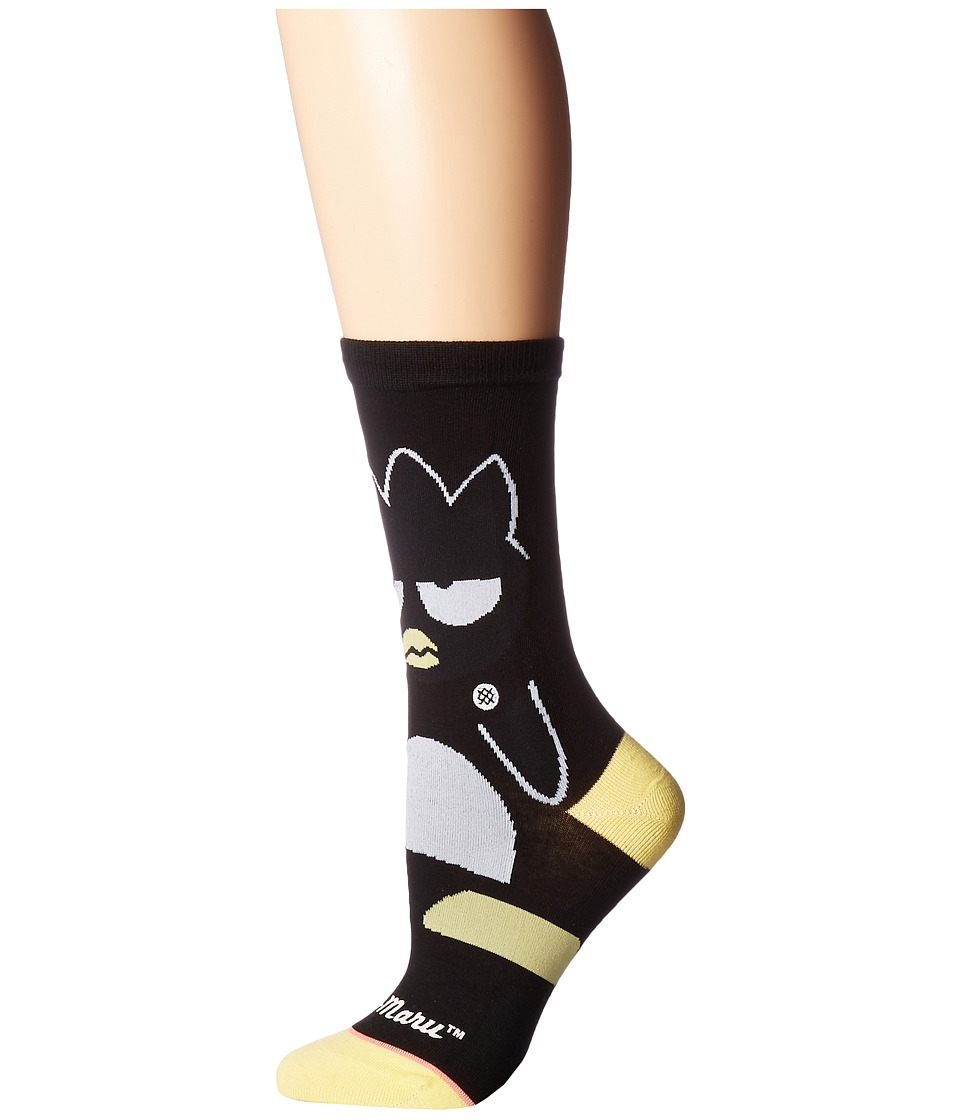 Stance - Badtz-Maru (Black) Women's Crew Cut Socks Shoes