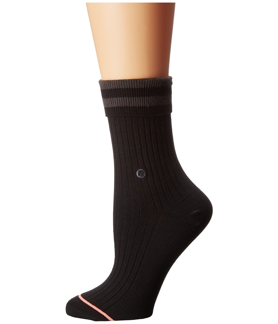 Stance - Uncommon Anklet (Black) Women's Crew Cut Socks Shoes
