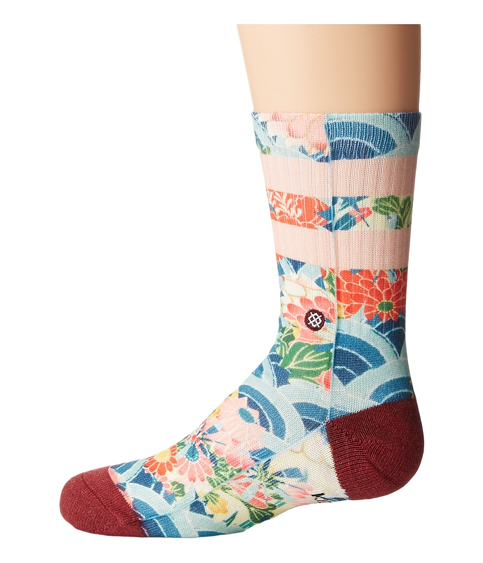 Stance - Ichiban (Toddler/Little Kid/Big Kid) (Multi) Women's Crew Cut Socks Shoes