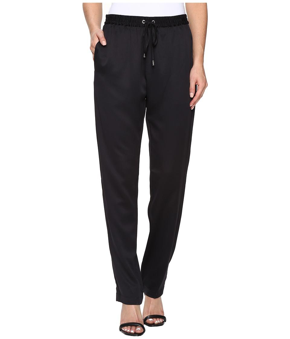MICHAEL Michael Kors - Pull-On Slim Pants (Black) Women's Casual Pants