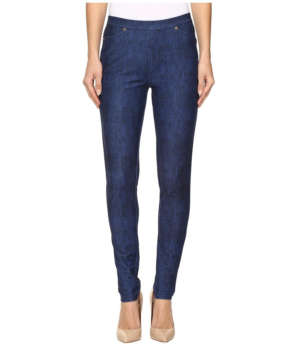 MICHAEL Michael Kors - Classic Wash Leggings (Blue Indigo) Women's Casual Pants