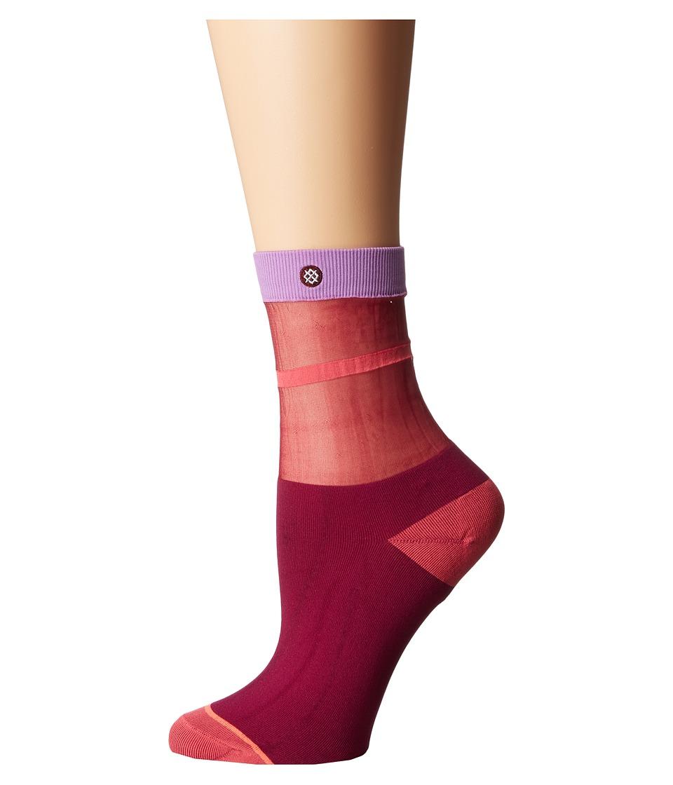 Stance - Foxy (Blue) Women's Crew Cut Socks Shoes