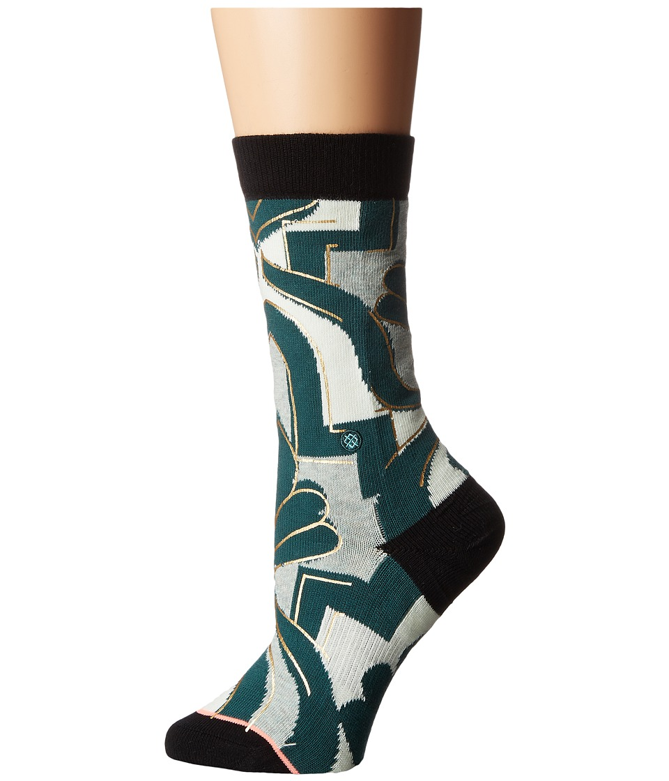 Stance - Funkadelic (Blue) Women's Crew Cut Socks Shoes