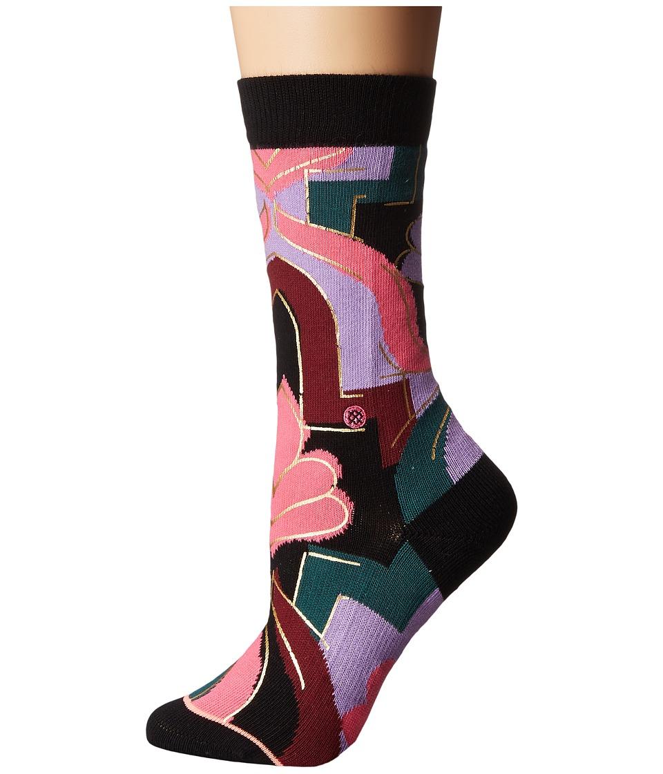 Stance - Funkadelic (Multi) Women's Crew Cut Socks Shoes