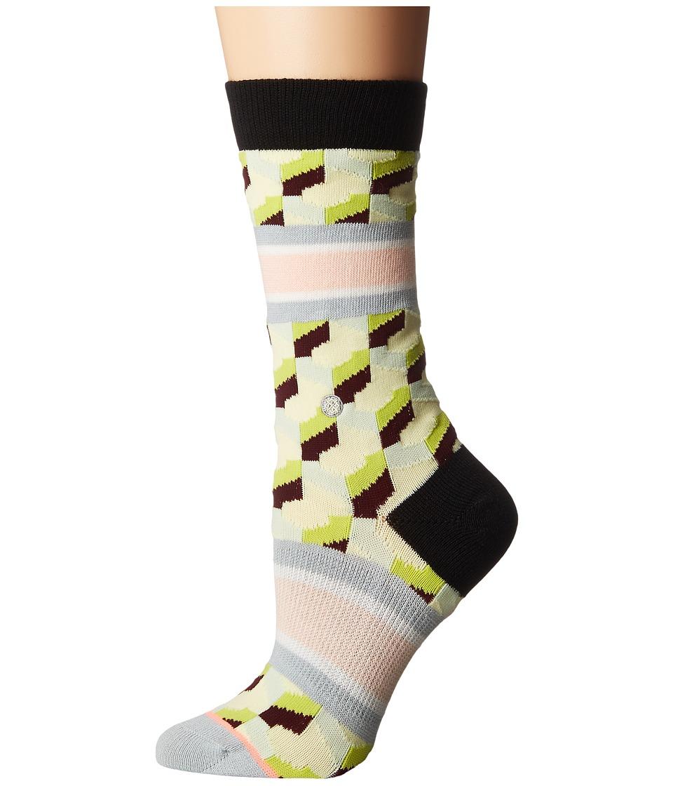 Stance - Clutch Tomboy (Green) Women's Crew Cut Socks Shoes