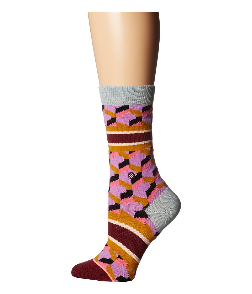 Stance - Clutch Tomboy (Purple) Women's Crew Cut Socks Shoes