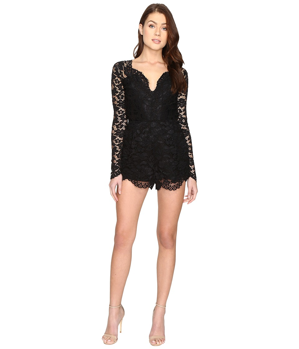 Lovers + Friends - Eve Romper (Black) Women's Jumpsuit & Rompers One Piece