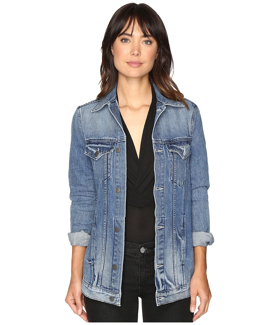 Lovers + Friends - James Denim Jacket (Summit) Women's Coat