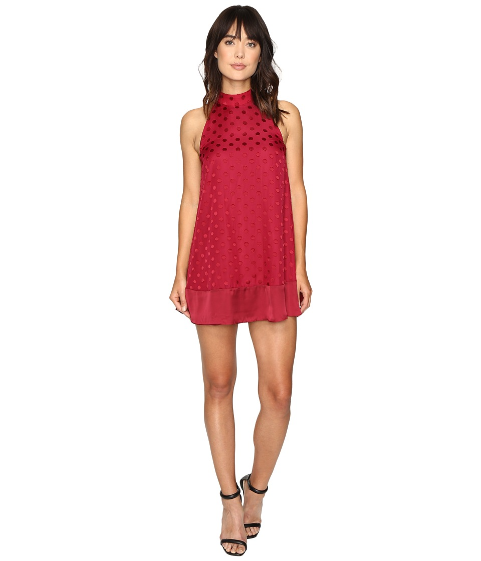 Lovers + Friends - Lily Dress (Raspberry) Women's Dress