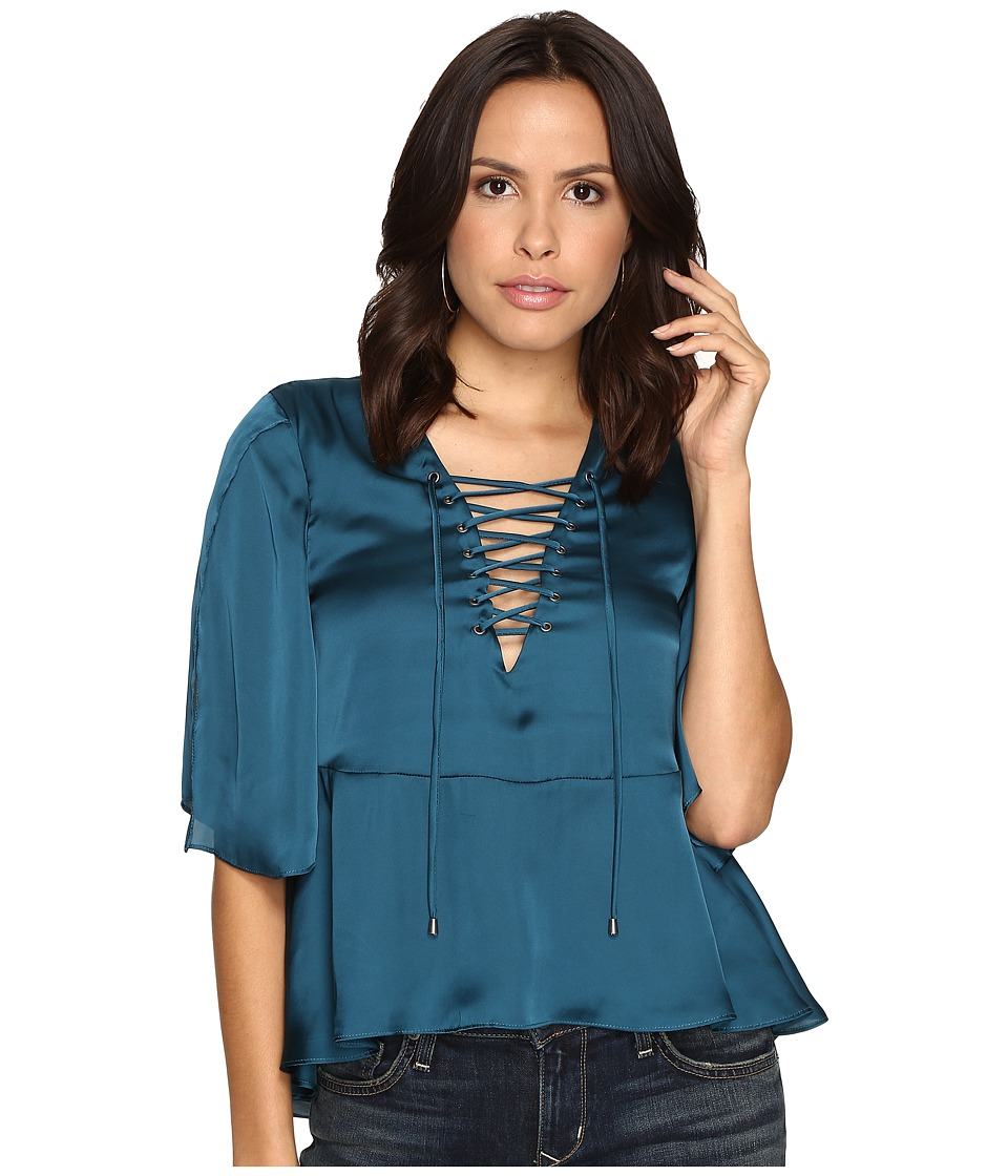 Lovers + Friends - Boulevard Top (Jade) Women's Clothing
