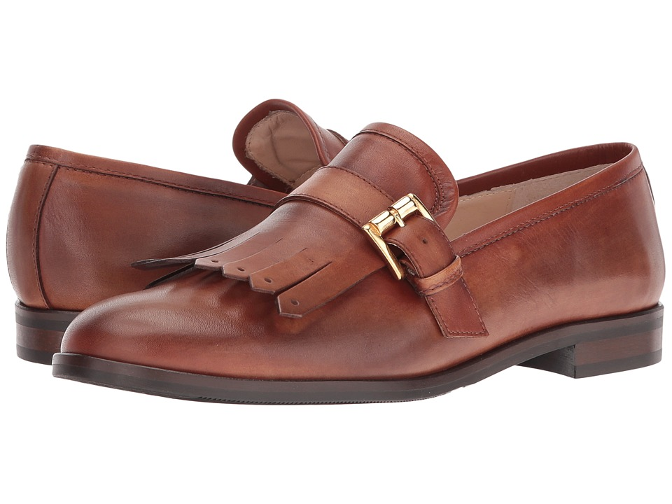 Massimo Matteo - Kiltie with Buckle (Cuoio) Women's Shoes