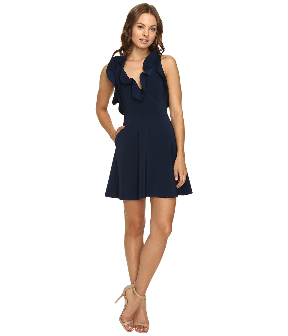 KEEPSAKE THE LABEL - Bitter Sweet Dress (Navy) Women's Dress