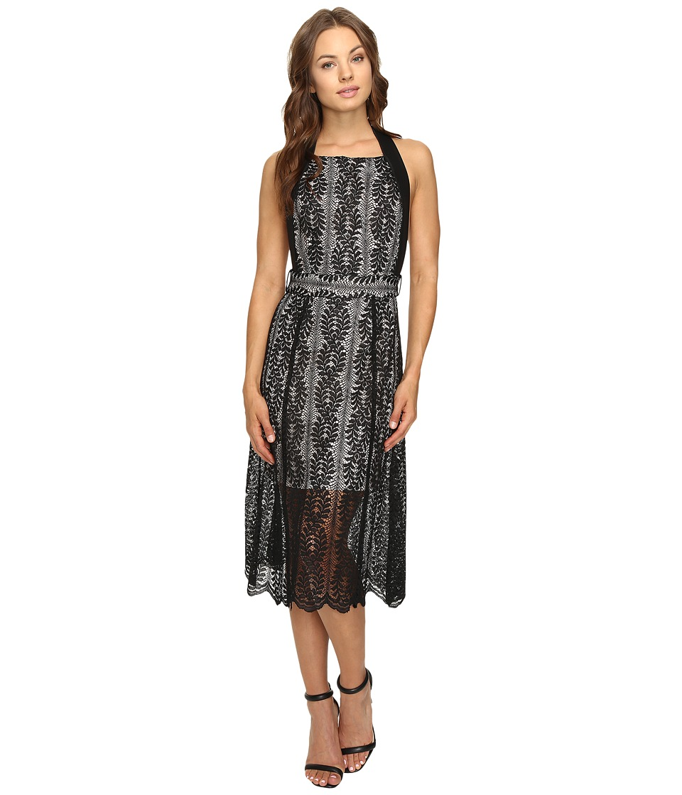 KEEPSAKE THE LABEL - Uptown Lace Dress (Black) Women's Dress