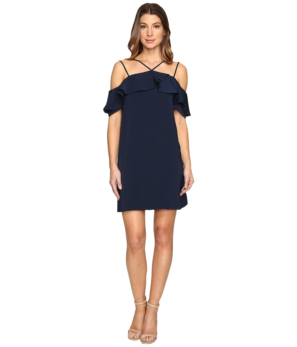 KEEPSAKE THE LABEL - Bitter Sweet Mini Dress (Navy) Women's Dress